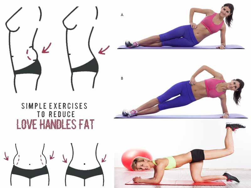 15 Simple & Best Exercises To Reduce Love Handles At Home