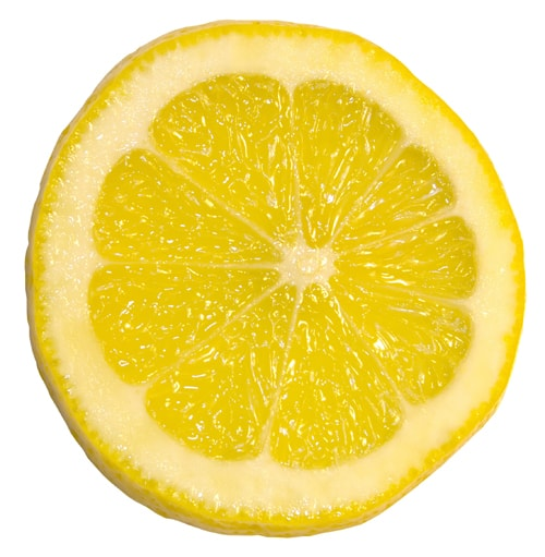LEMON ON FACE