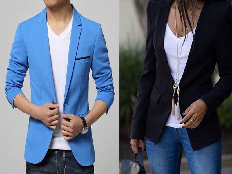 GenericMen Denim Casual Washed Cotton Slim Fit Sport Coat Suit Blazer Jackets