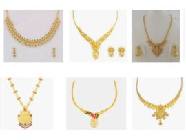 Gold Necklace Designs In 30 Grams 15
