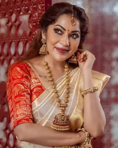 Brocade Blouse Patterns For Kerala Saree