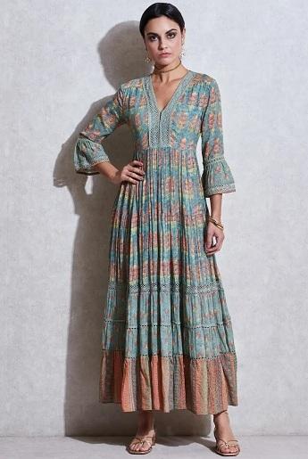 Designer Cotton Kurta By Ritu Kumar