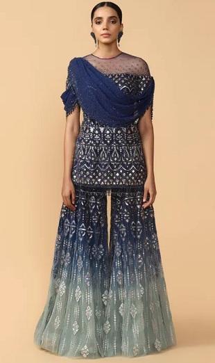 Designer Short Kurti By Tarun Tahiliani