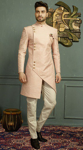Indo Western Sherwani For Engagement