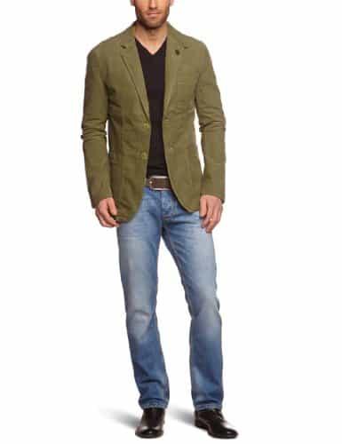 Sports Blazer with Jeans