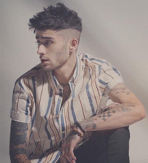 Zayn Malik Hairstyles 3