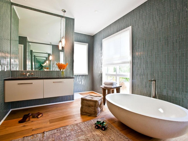 Mediterranean Bathroom Idea