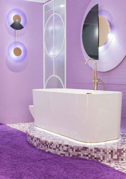 Purple Bathroom Ideas