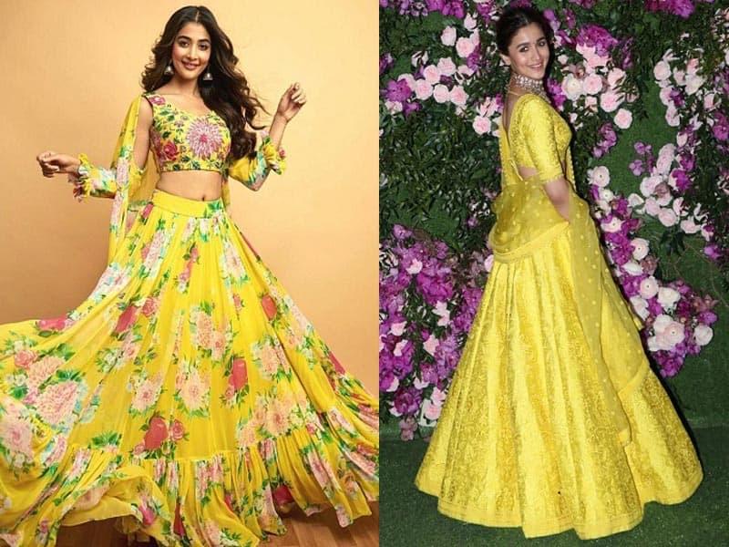 15 Trending Yellow Lehenga Choli Designs For Ravishing Look