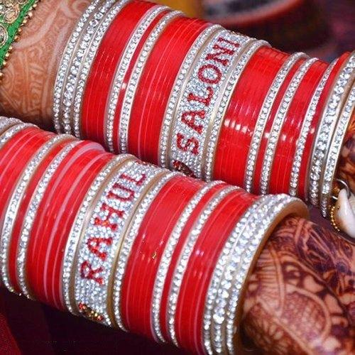 Bridal Bangles With Names
