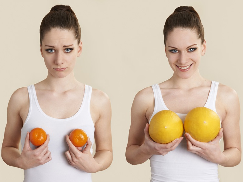 Breasts get bigger naturally to my how How to