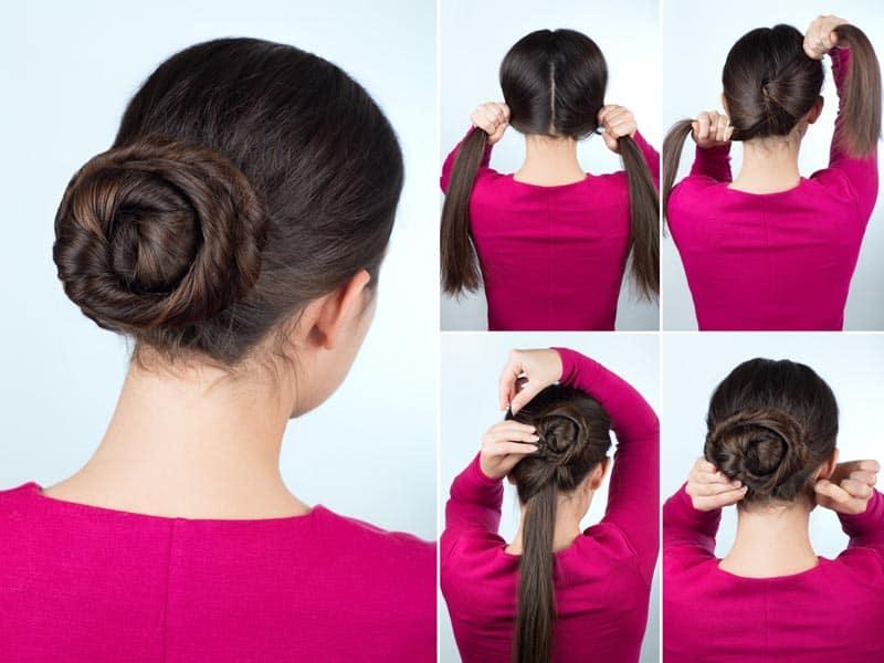 10 Simple Bun Hairstyles to Make at Home (Tutorials) | Styles At Life