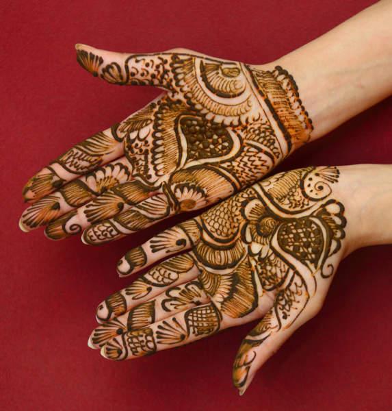 Floral Style Mehndi Design