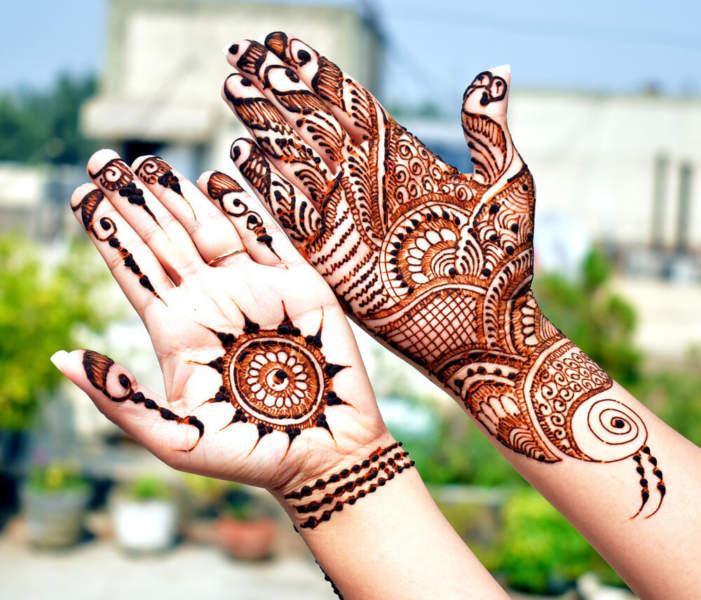 Arabic Style Mehndi Designs for Diwali