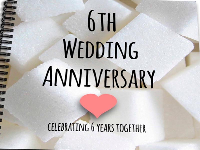 45 Top 6th Wedding Anniversary Gifts For Your Dear One