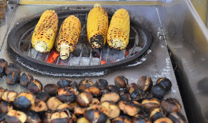 Chestnuts And Corn