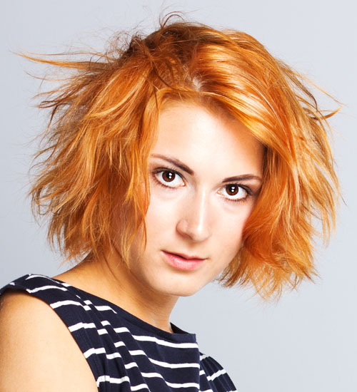 Edgy and Modern Hairdo for Cocktail