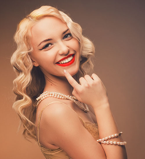Vintage and Fun Vibes Hairstyle
