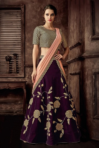 35 Lehenga Saree Designs Must See This Beautiful Collection