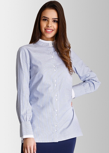 Oversized Formal Long Shirts For Ladies
