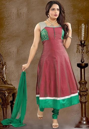 Anarkali Princess Cut Churidar