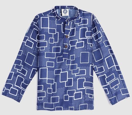 Block Printed Kurta Shirt