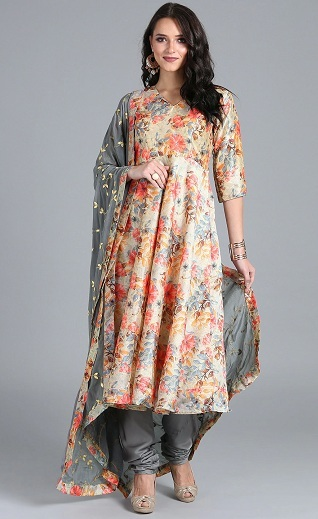 Anarkali Churidar For Weddings
