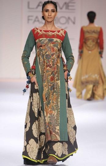 Designer Kalamkari Kurti By Shashikanth Naidu