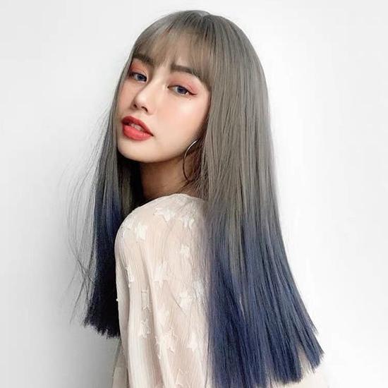 Wispy Bangs for Long Straight Hair