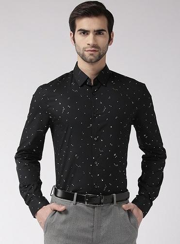 Fancy Partywear Printed Shirt