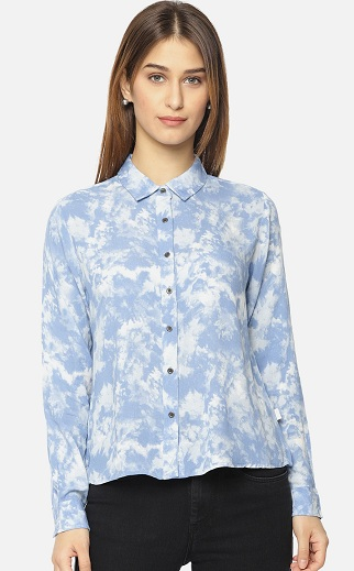 Pepe Jeans Printed Shirt With Long Sleeves