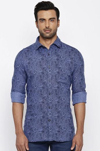 Raymond Linen Printed Shirts