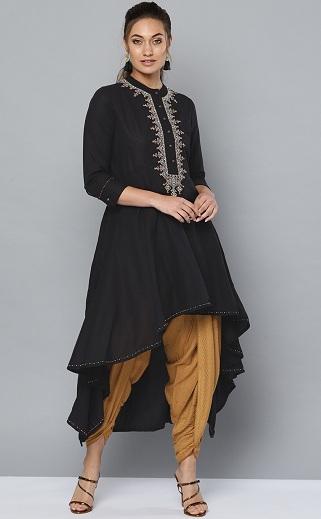 Designer Dhoti Kurta For Parties For Women