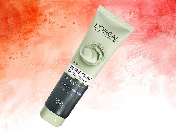 L'Oreal Clay Black Face Wash